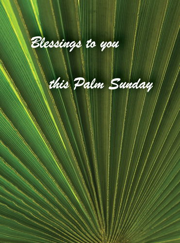 Plan ahead for Palm Sunday Blessings!