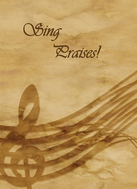 Sing Praises - Christian Greeting Card